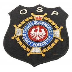 Emblemat na rzepie logo ZOSP