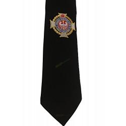 Krawat OSP z logo ZOSP RP